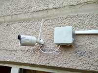 Установка Wi-Fi камеры видеонаблюдения