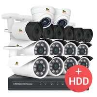 2.0MP Набор для улицы PRO AHD-28 16xCAM + 1xDVR + HDD