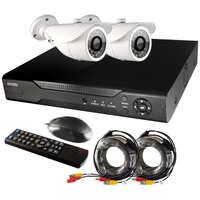 Комплект для видеонаблюдения Ginzzu HK-422D (без HDD)