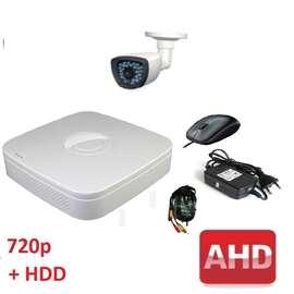 Комплект для видеонаблюдения AHD-1 улица 720p