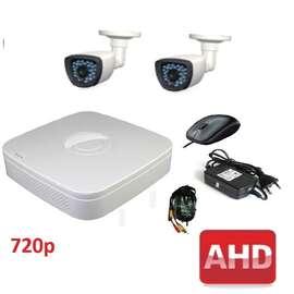 Комплект для видеонаблюдения AHD-2 улица 720p (без HDD)