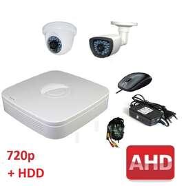 Комплект для видеонаблюдения AHD-2 универсальный 720p