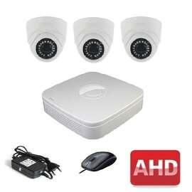 Комплект для видеонаблюдения AHD-3 Старт-Дом