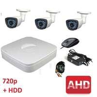Комплект для видеонаблюдения AHD-3 улица 720p