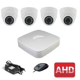 Комплект для видеонаблюдения AHD-4 Старт-Дом