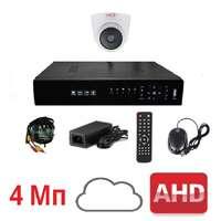Комплект для видеонаблюдения AHD-1 дом-офис 4Мп (без HDD)