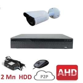 Комплект видеонаблюдения AHD-1 Улица Стандарт