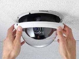 Установка видеонаблюдения: монтажные работы